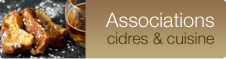 Associations cidres & cuisine